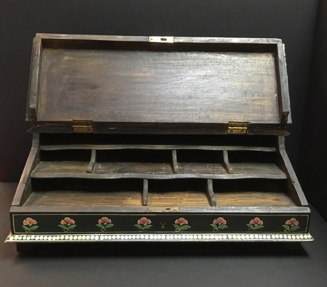 Handpainted Secreterial Desk - 2