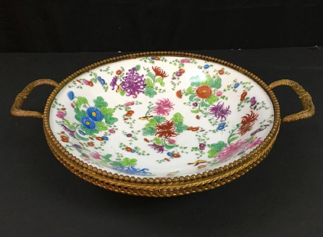 Antique French porcelain Centerpiece
