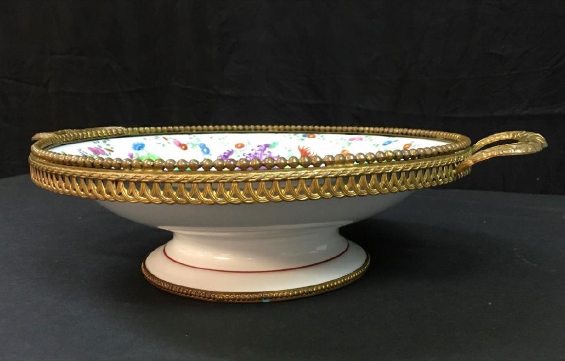 Antique French porcelain Centerpiece - 2