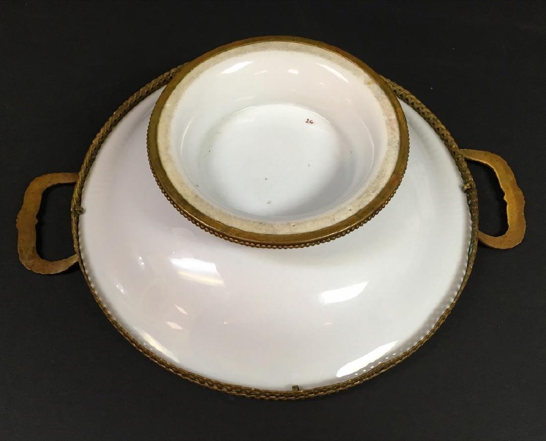 Antique French porcelain Centerpiece - 4