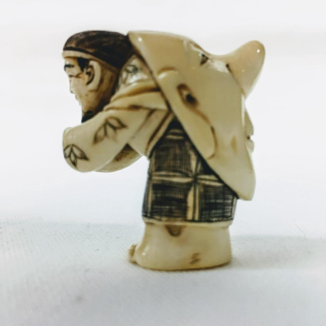 19th century Netsuke double face - 2