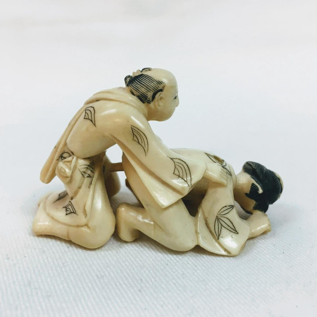 19th Century Erotic Netsuke figure