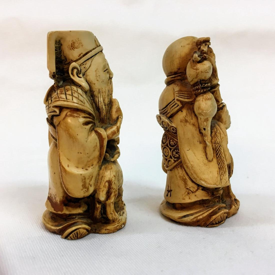 19th Century set of two Chinese figures - 2