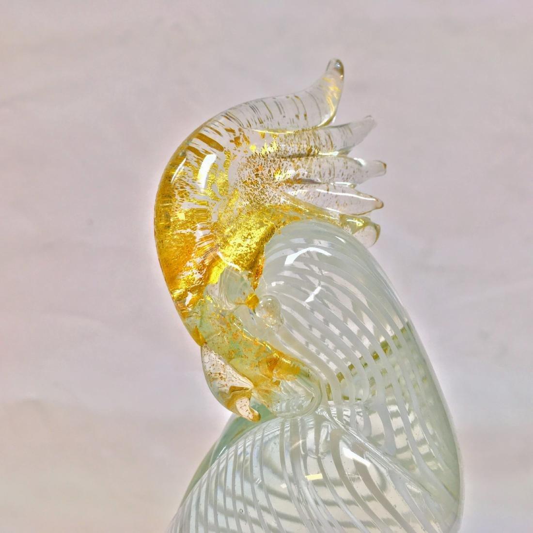 Murano Art Glass Parrot-Vintage Italian Mid Century - 5