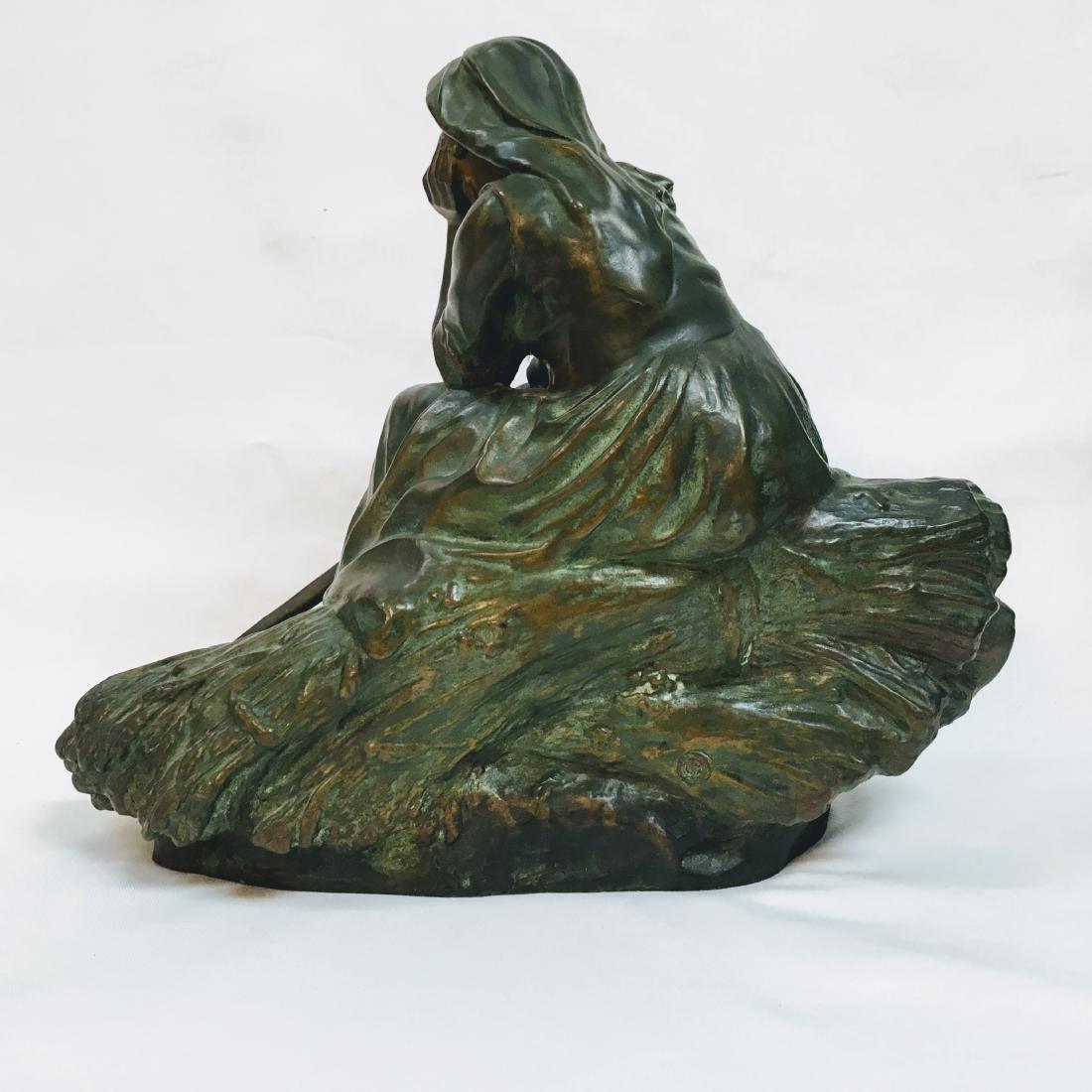 CORNEILLE HENRI THEUNISSEN 1863-1918 REVERIE AU CHAMP - 3