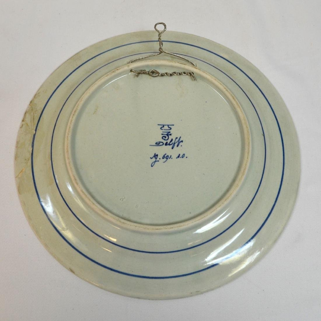 1919 signed marked dutch pottery holland delft - 2