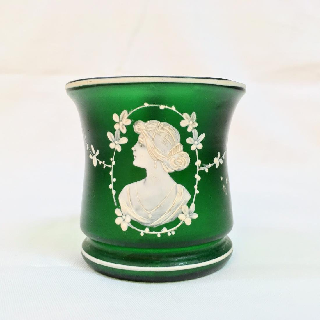 VICTORIAN MARY GREGORY GLASS CUP