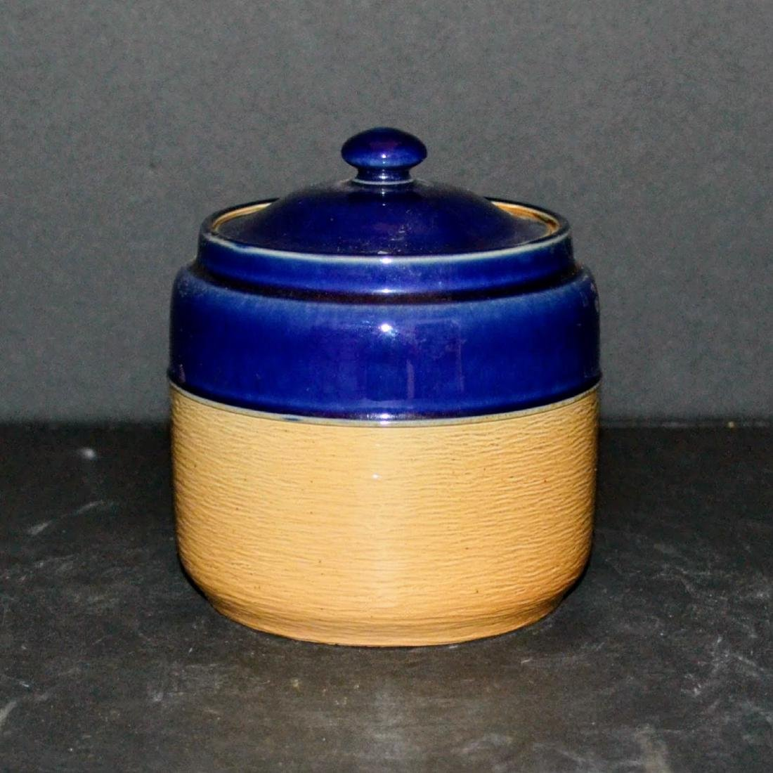 Vintage Doulton & Co Pot with Cover