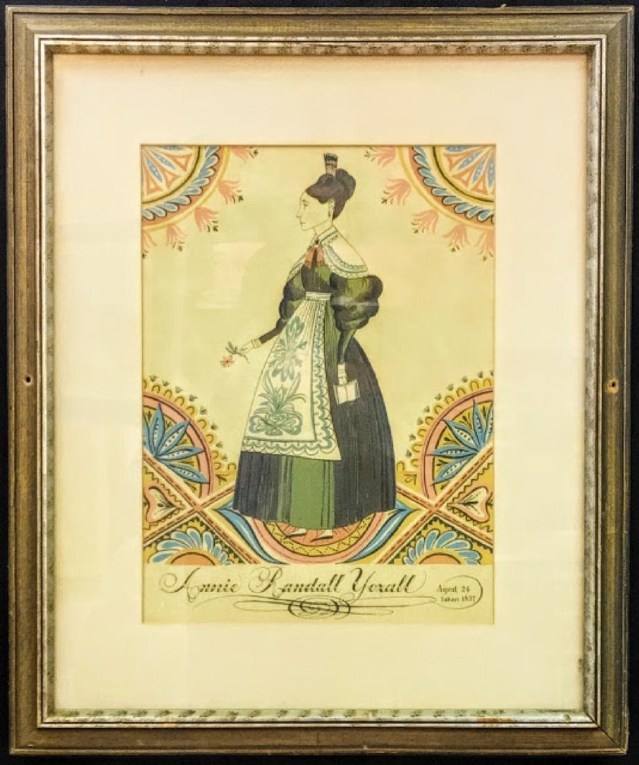 Folk Art Annie Randall Yoxall 1837