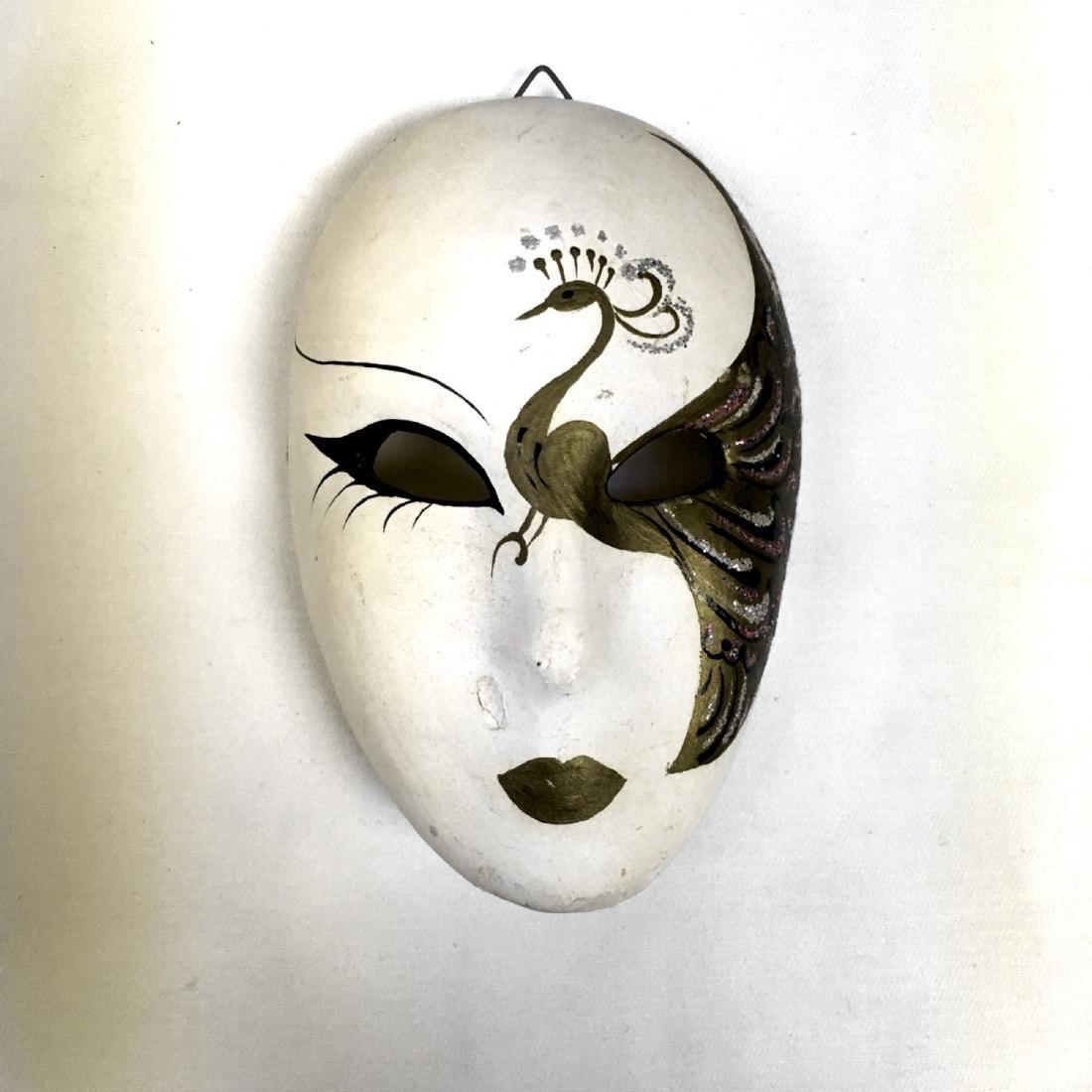 Lot of assorted Venetian Carnevale Masks, Handmade in - 3