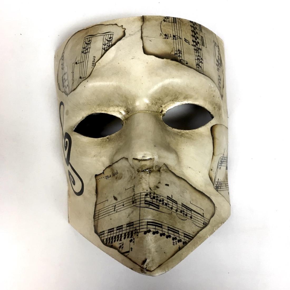Lot of assorted Venetian Carnevale Masks, Handmade in - 4