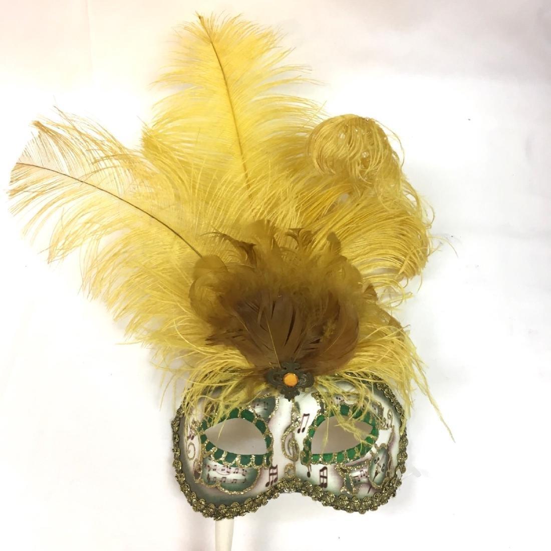 Lot of assorted Venetian Carnevale Masks, Handmade in - 7