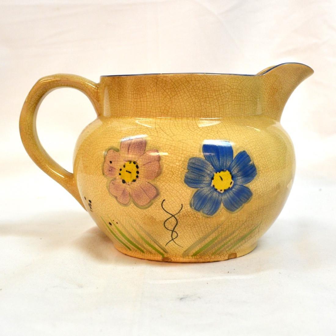 Antique Kensington Pottery Picher England - 2