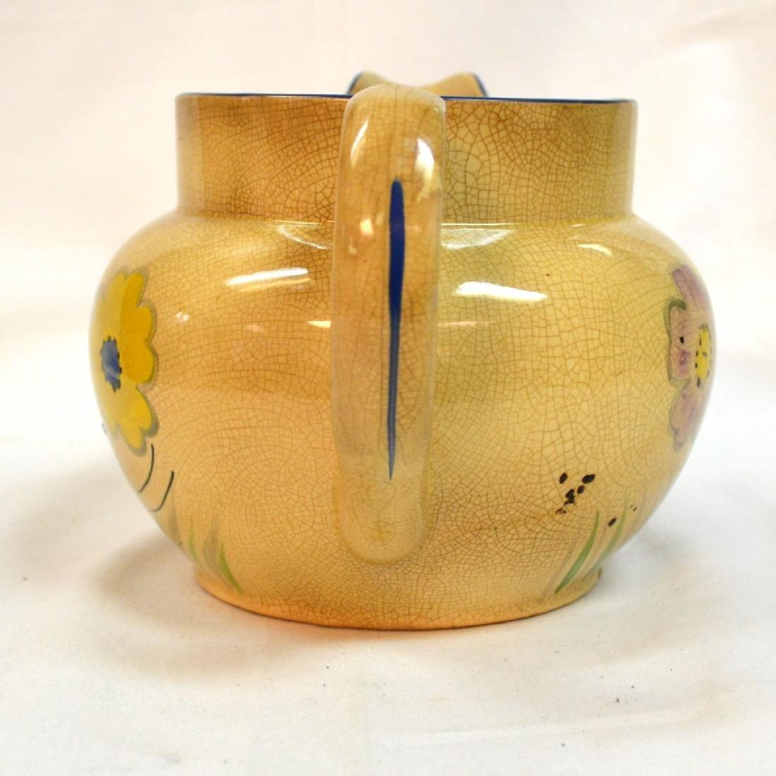 Antique Kensington Pottery Picher England - 4