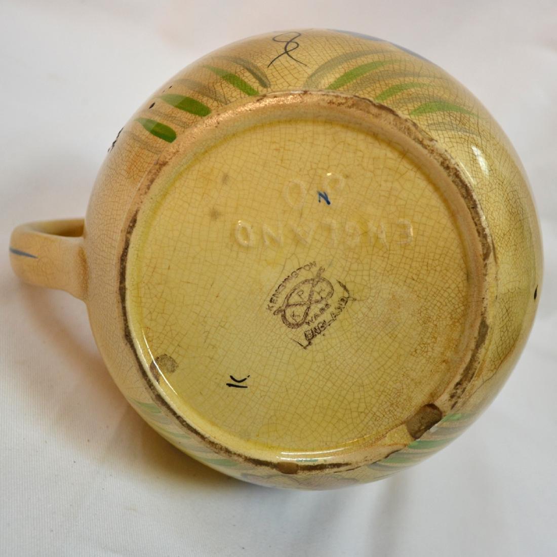 Antique Kensington Pottery Picher England - 6