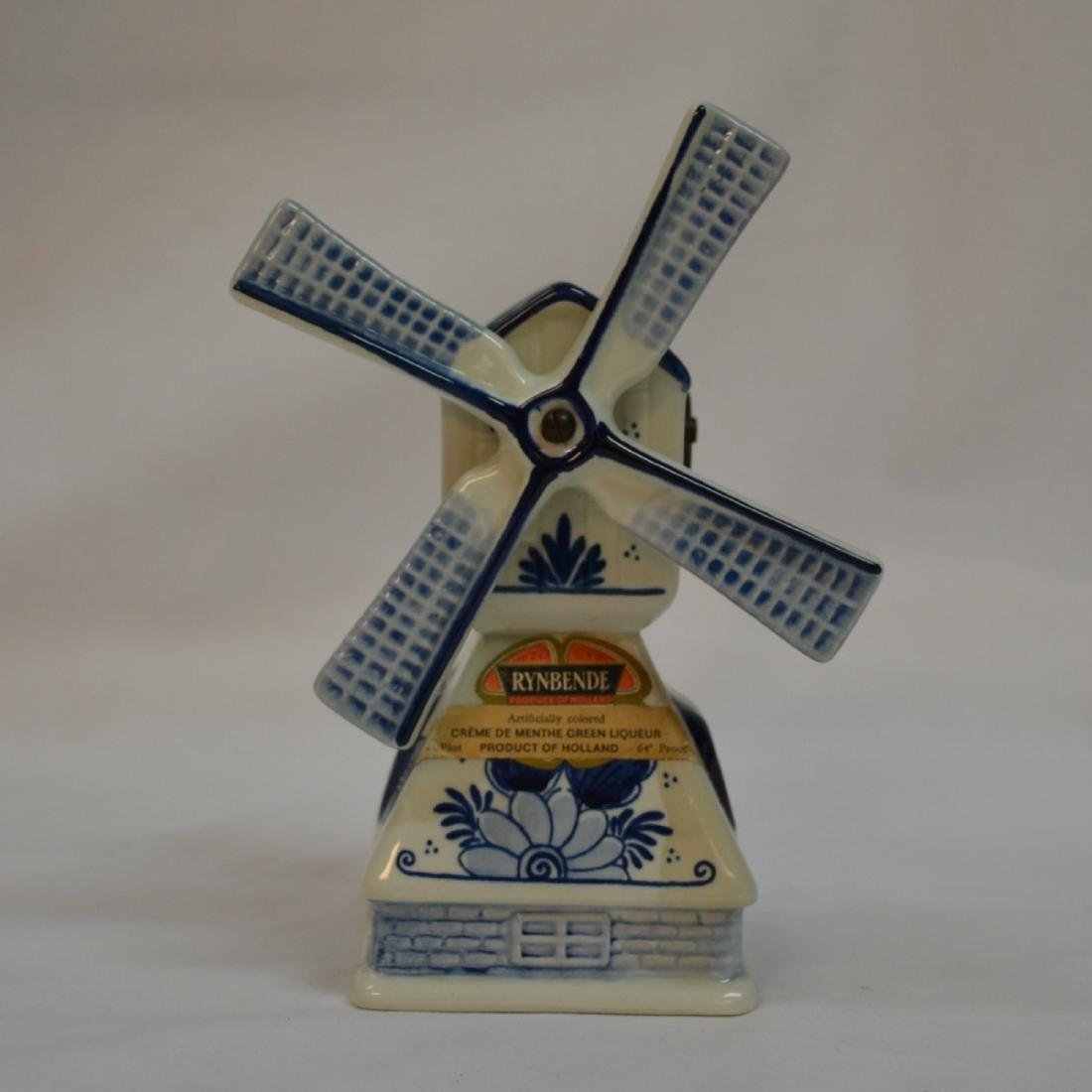 RYNBENDE WINDMILL ANND 1463 - DELFT BLUE - MADE IN