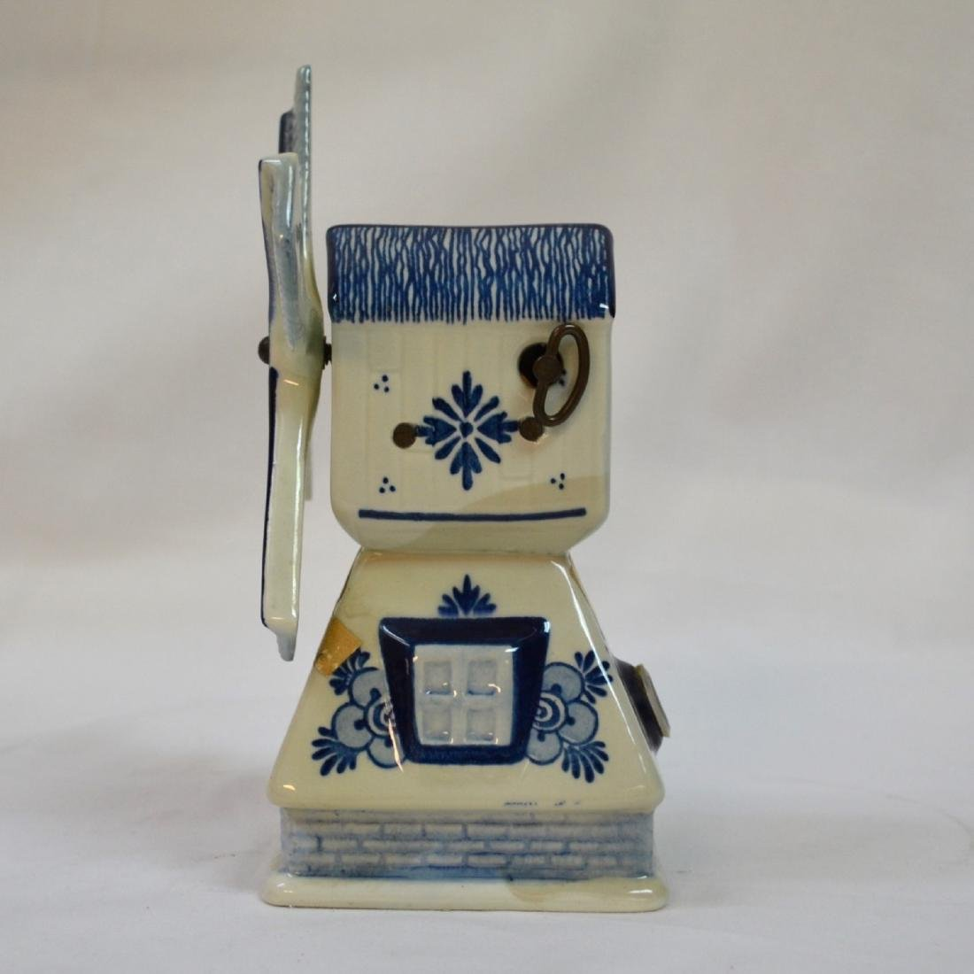 RYNBENDE WINDMILL ANND 1463 - DELFT BLUE - MADE IN - 2