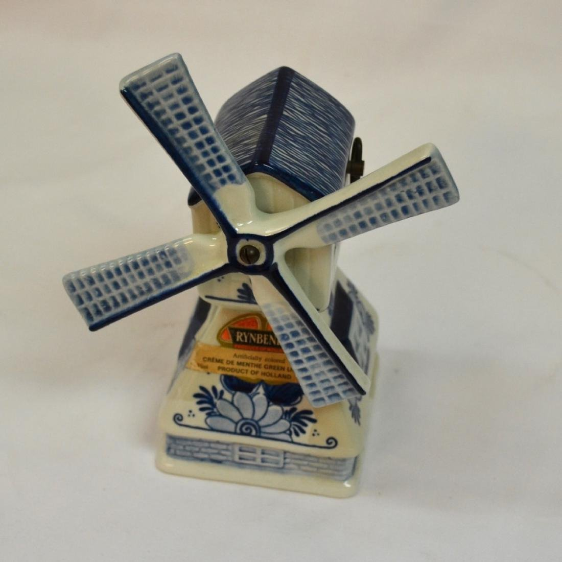 RYNBENDE WINDMILL ANND 1463 - DELFT BLUE - MADE IN - 5