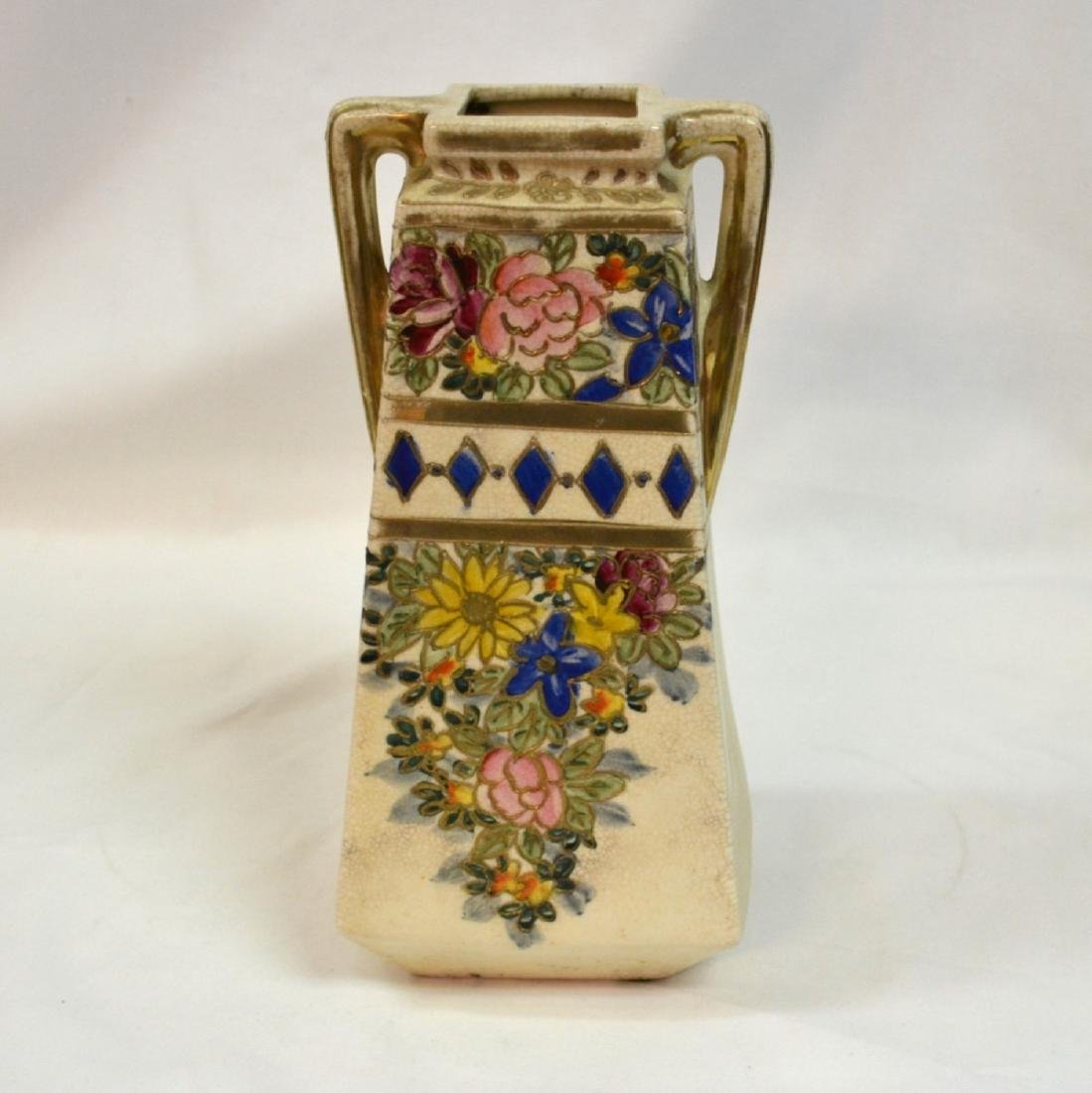 Antique Nippon Hand Painted Vase