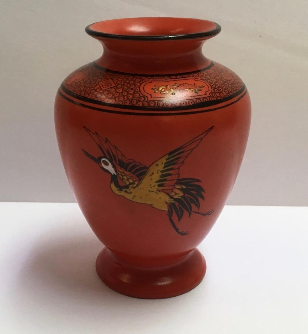 Vintage & Collectable SHELLEY(England) Orange Pottery