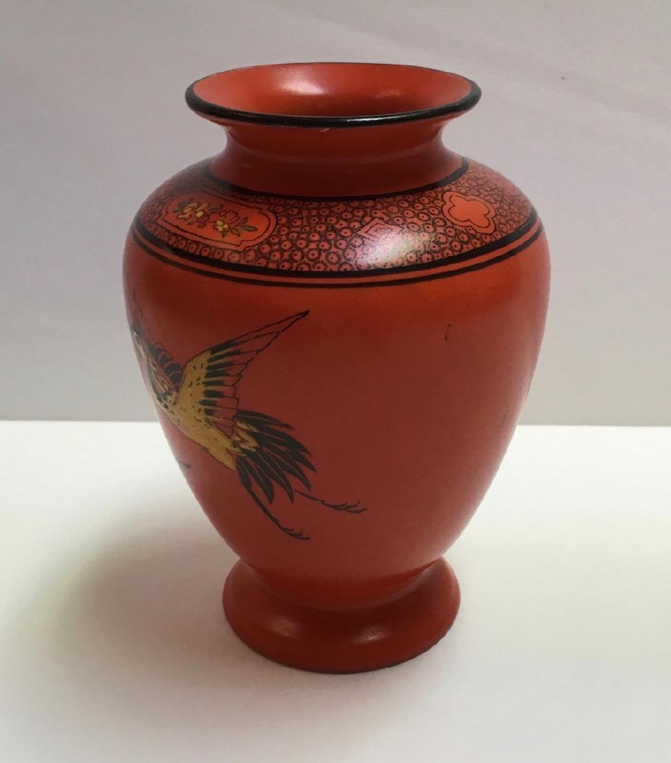 Vintage & Collectable SHELLEY(England) Orange Pottery - 2