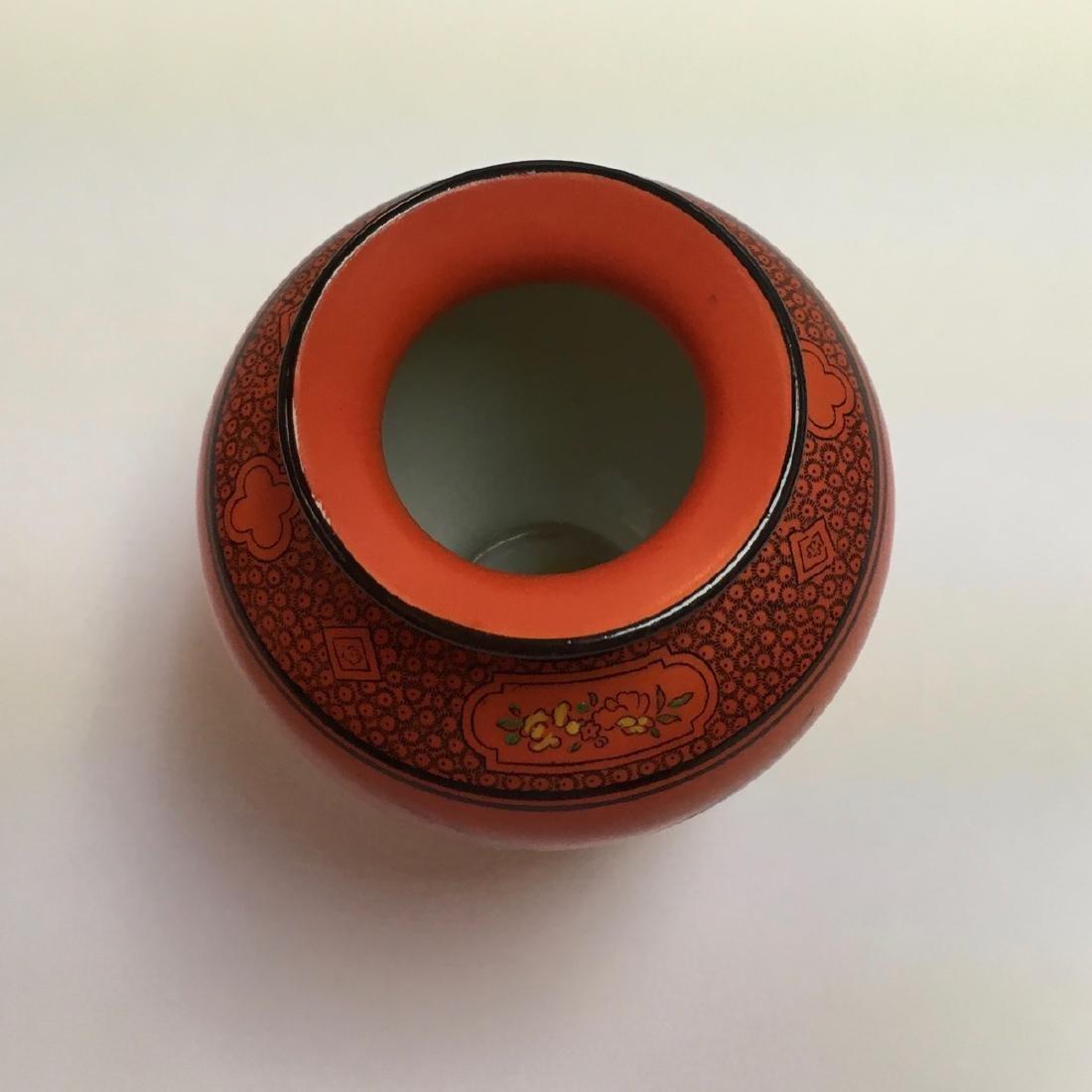 Vintage & Collectable SHELLEY(England) Orange Pottery - 3