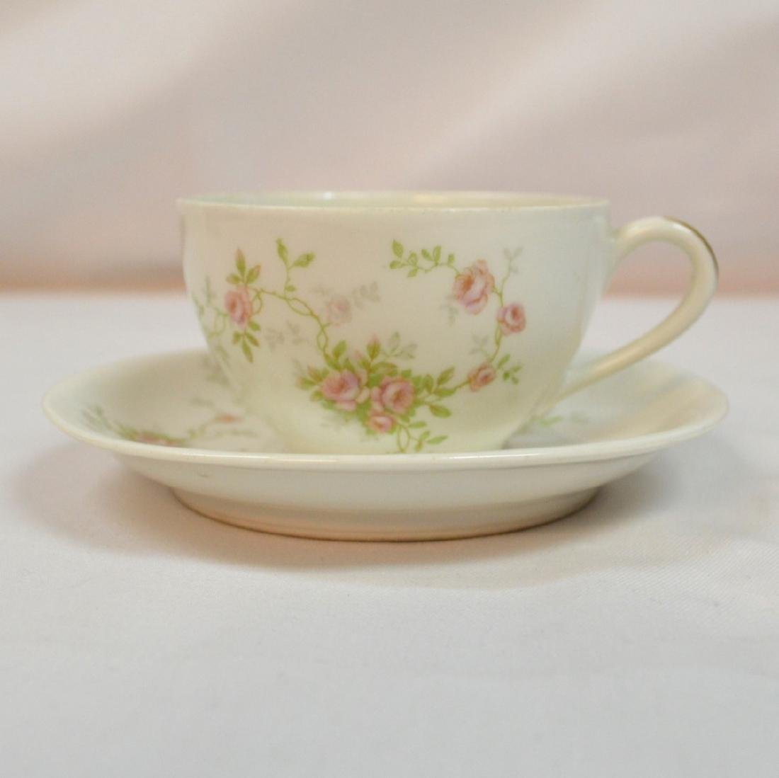 Antique Limoges Teacup and Saucer France