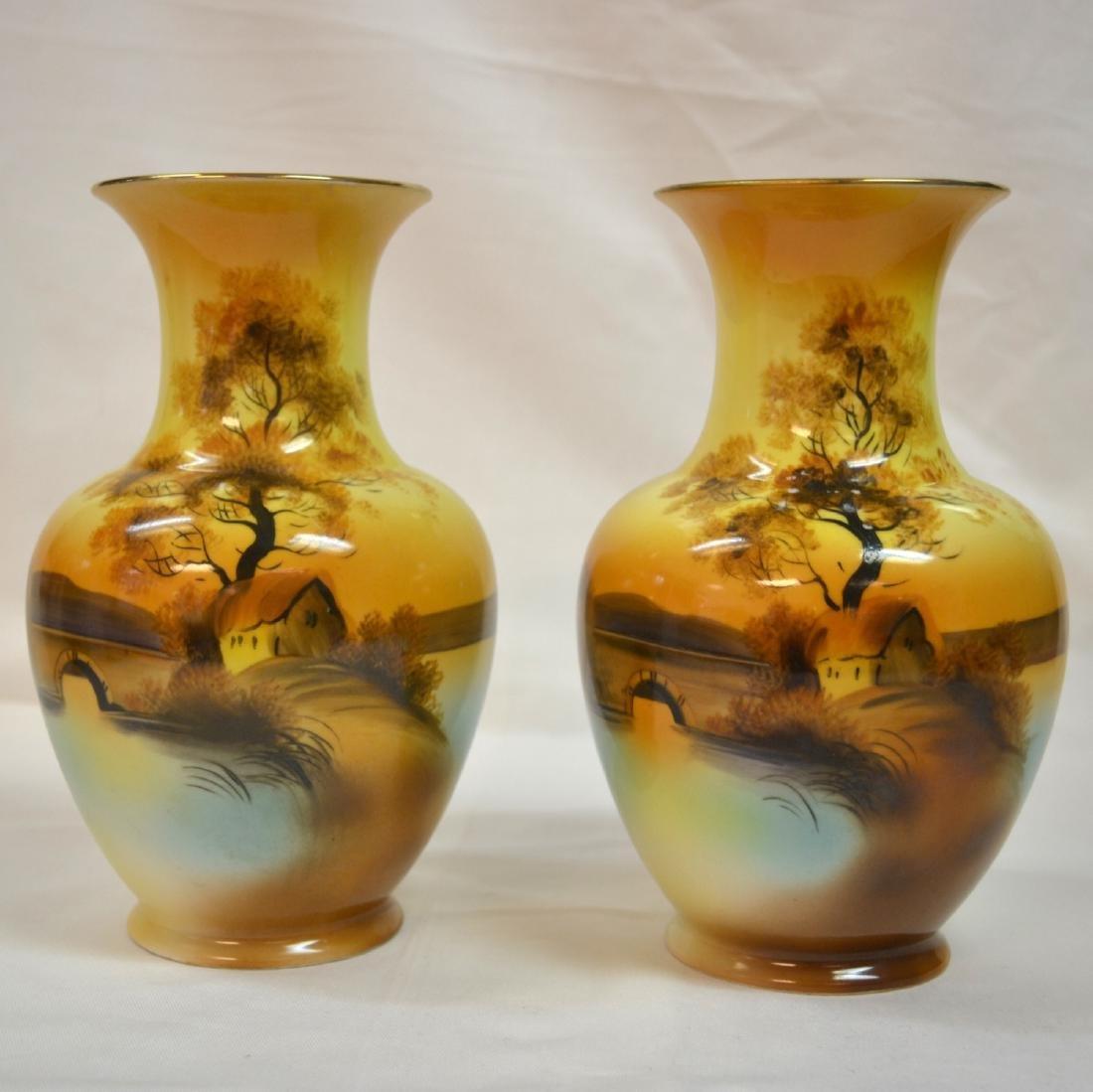 Vitange Morimura Nippon Noritake Hand Painted Porcelain