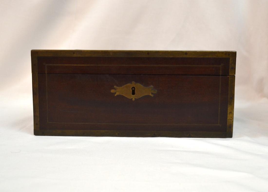 Antique Coromandel Wood Vanity Case, Jewellery Box,