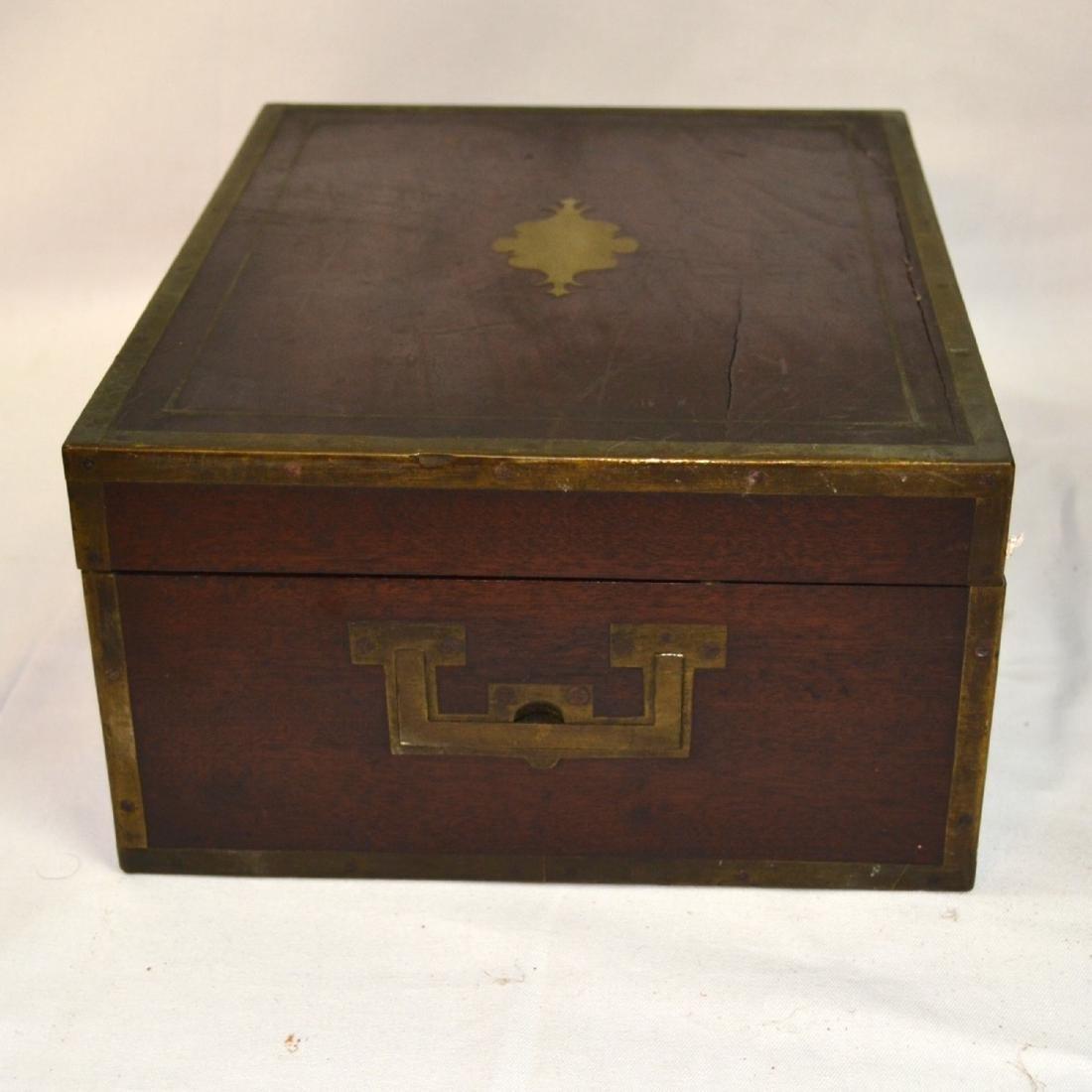 Antique Coromandel Wood Vanity Case, Jewellery Box, - 6