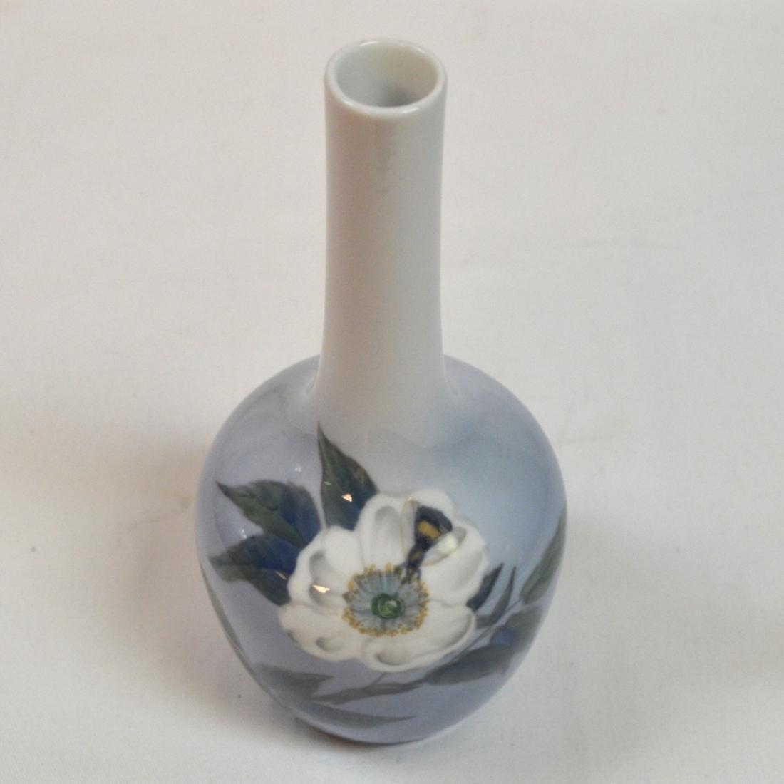 "Royal Copenhagen Vase 8"" - 3"