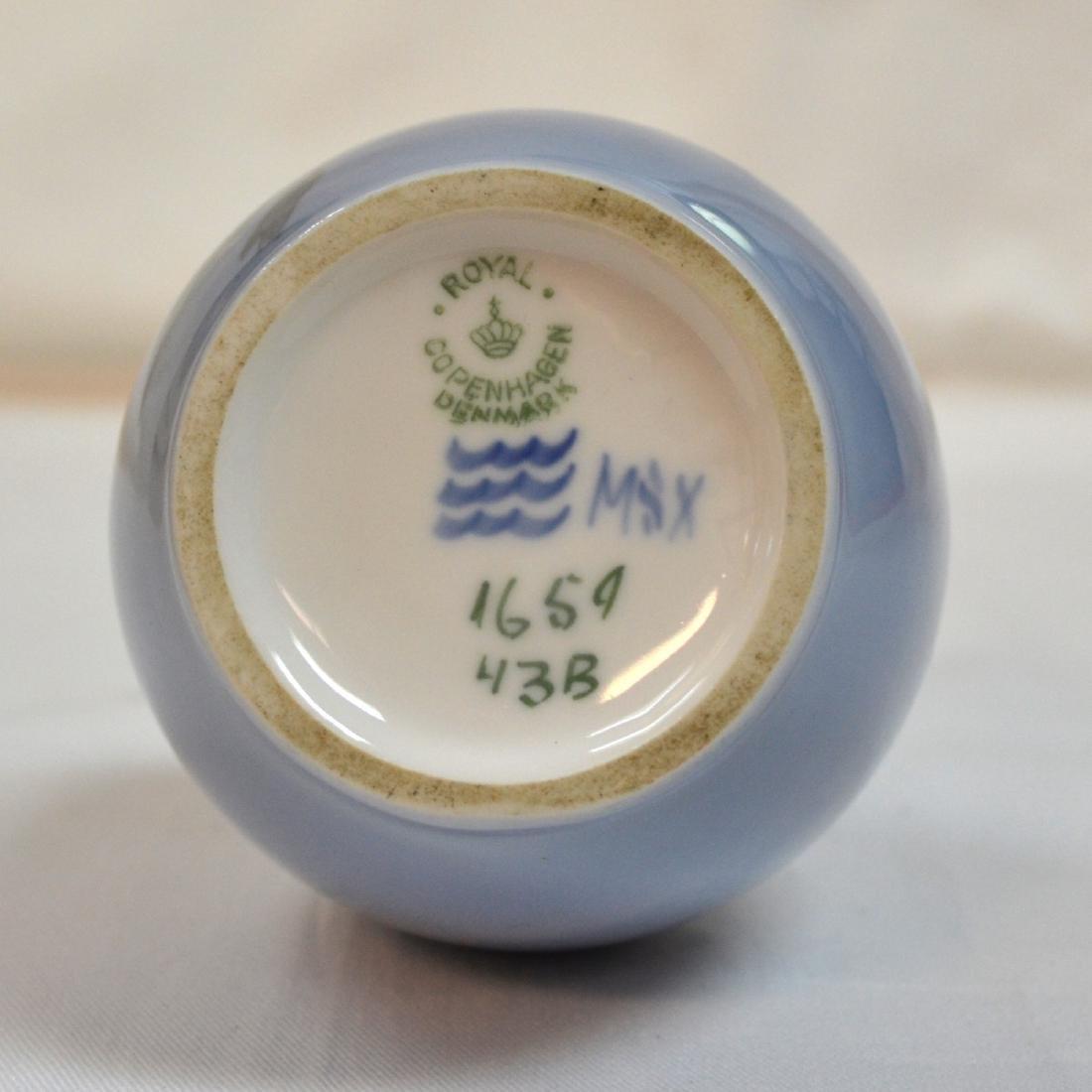 "Royal Copenhagen Vase 8"" - 4"