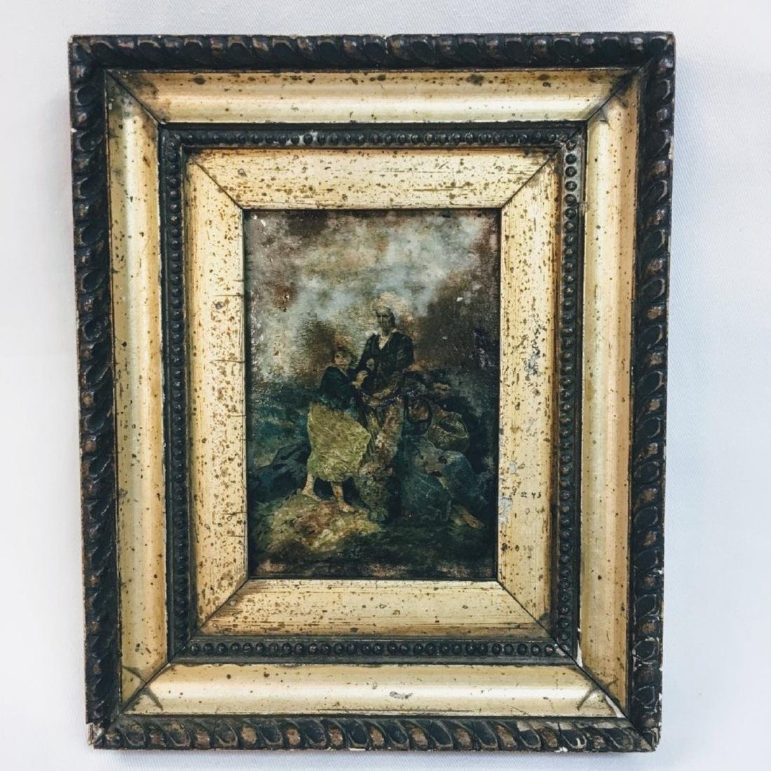"""AMERICAN OLD MASTER SIGNED """"TS"""""""