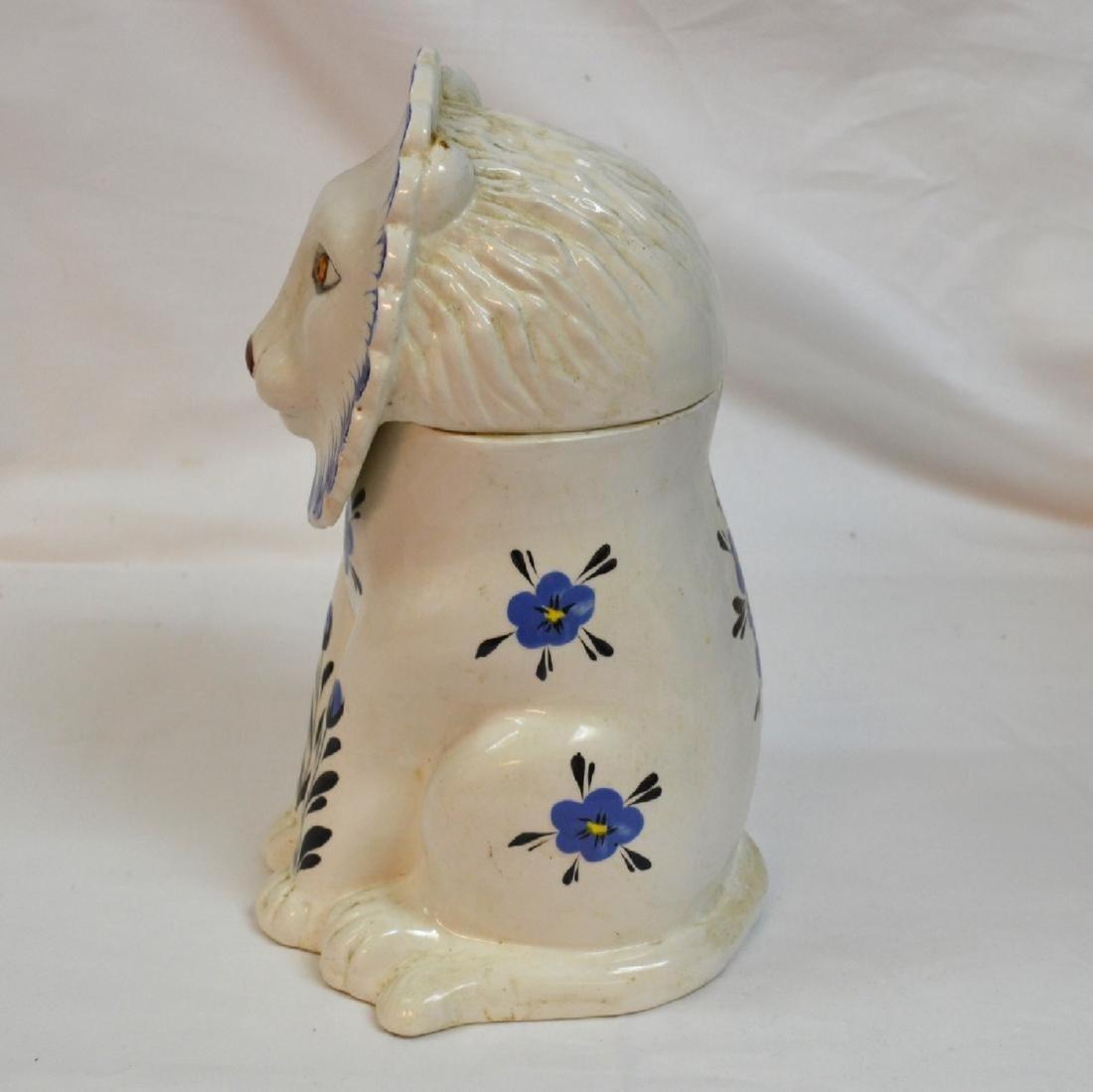 Mancer Ceramic Lion Cookie Jar . Made in Italy - 2