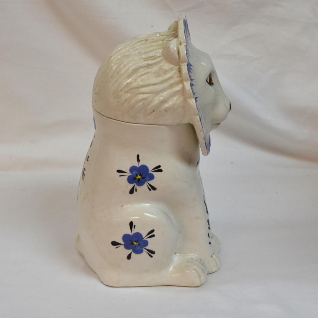 Mancer Ceramic Lion Cookie Jar . Made in Italy - 5