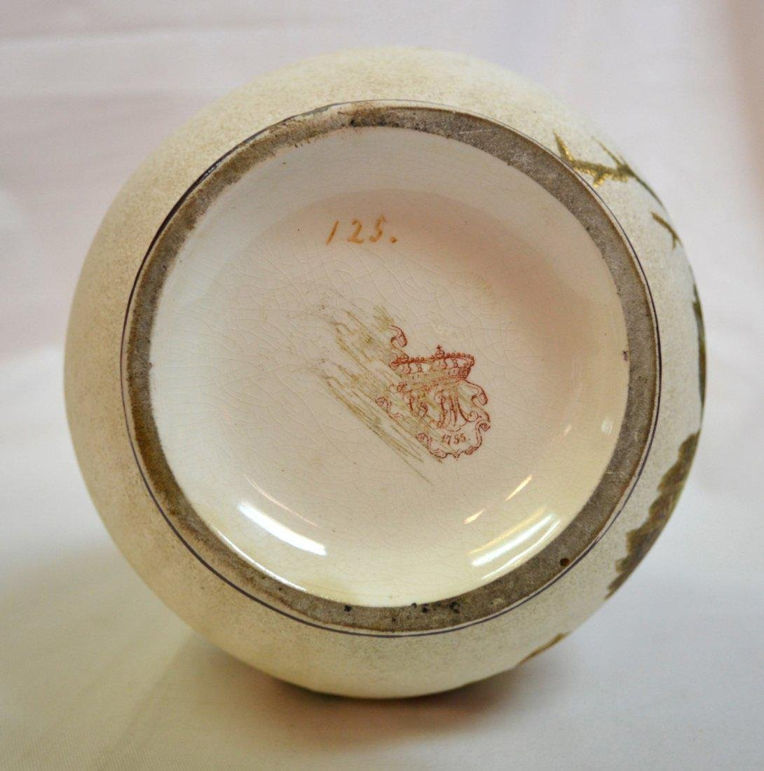 Franz Anton Mehlem (FAM) Royal Bonn Floral Vase - 3