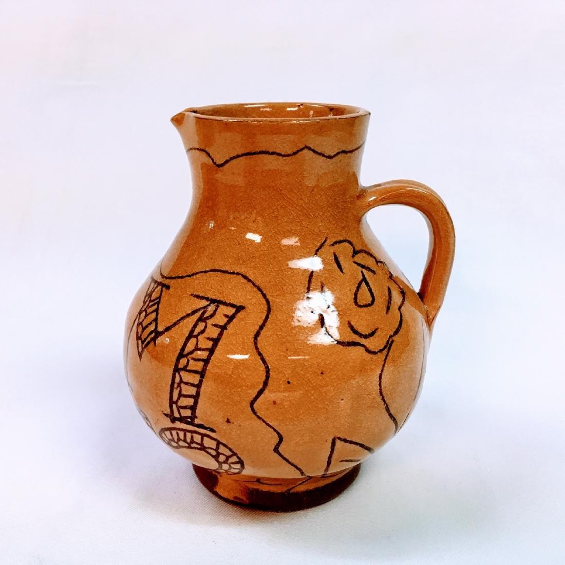 Vintage rare  ceramic mark CW on bottom