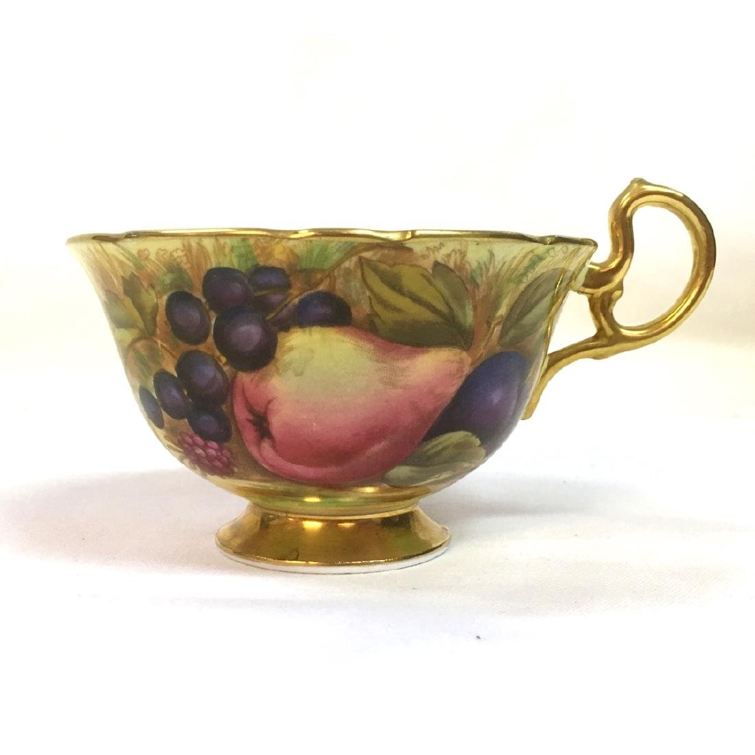Aynsley Orchard Fruits Gold Tea Cup