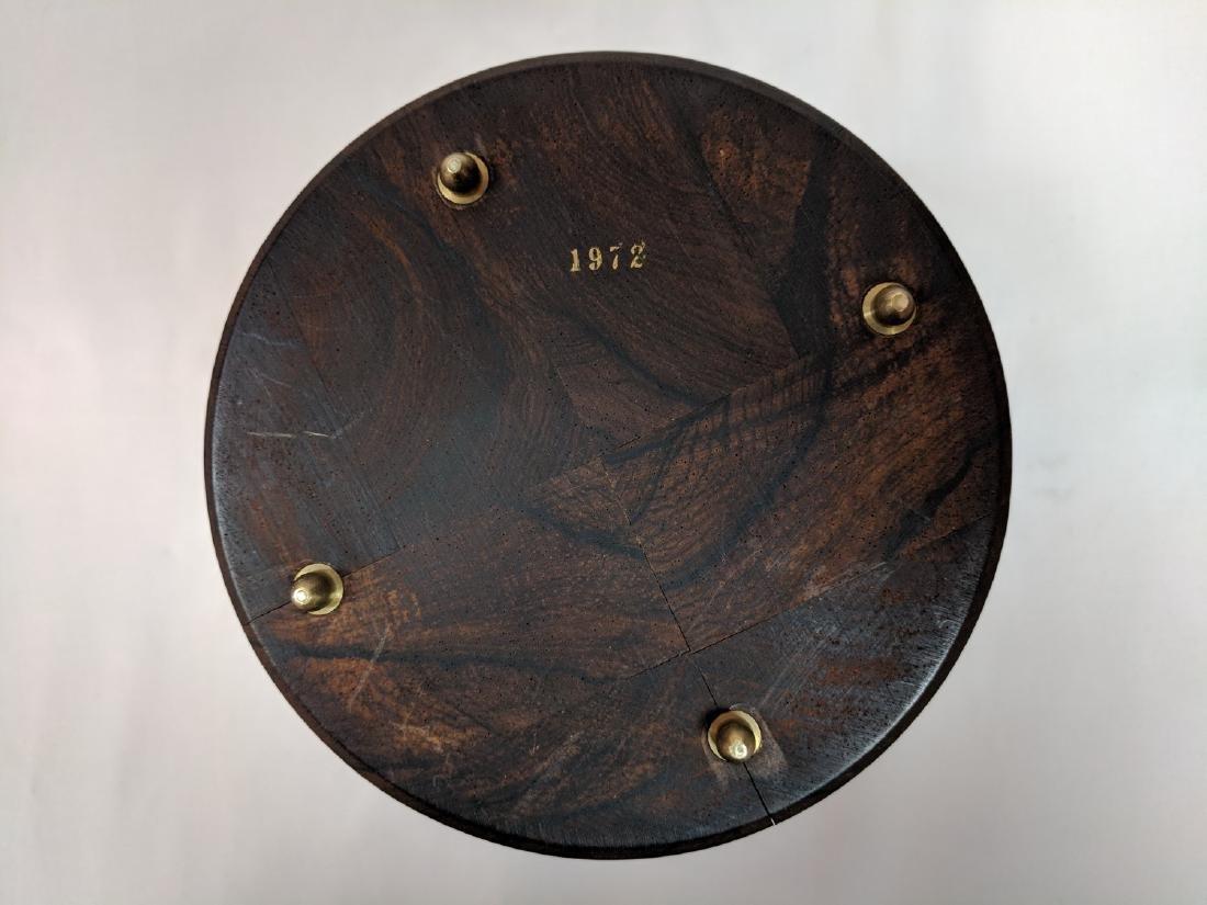 Vitange Rare  Meteorite in a rosewood box - 6