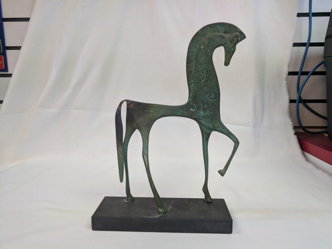 Antique Bronze Horse Scuplture - 3