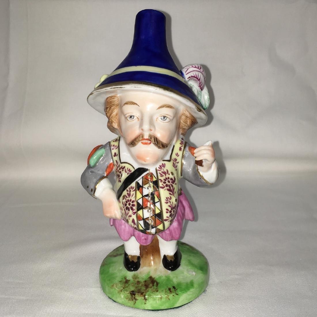 Late 19th C. Derby Porcelain Mansion House Dwarf figure