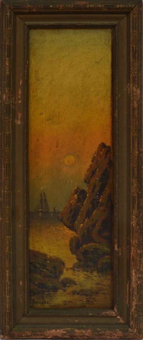 Oil on Canvas, framed, signed J.Brichel