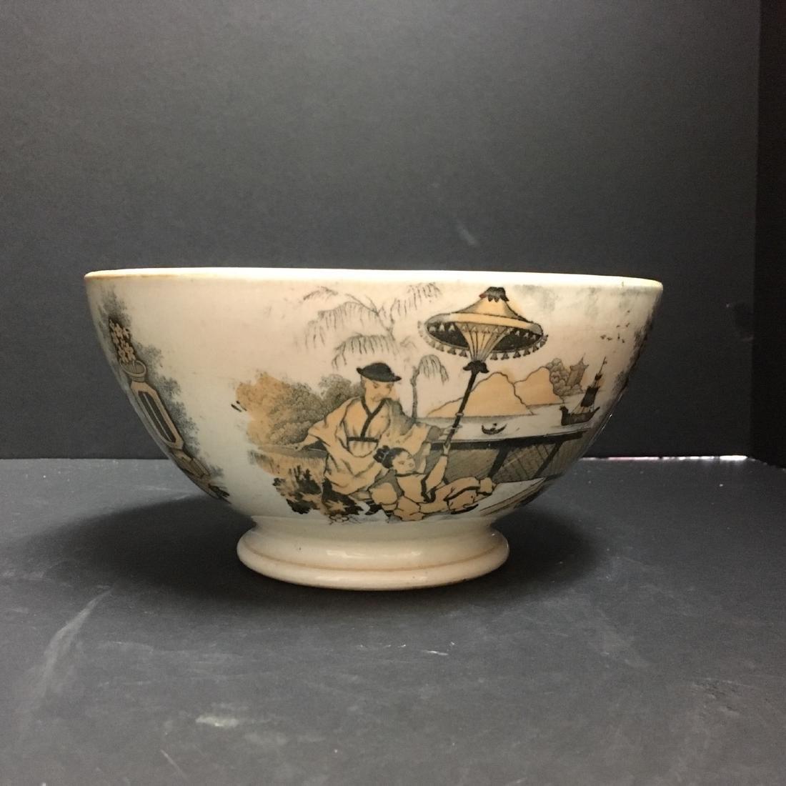Petrus Regout bowl - Pajong circa 1890