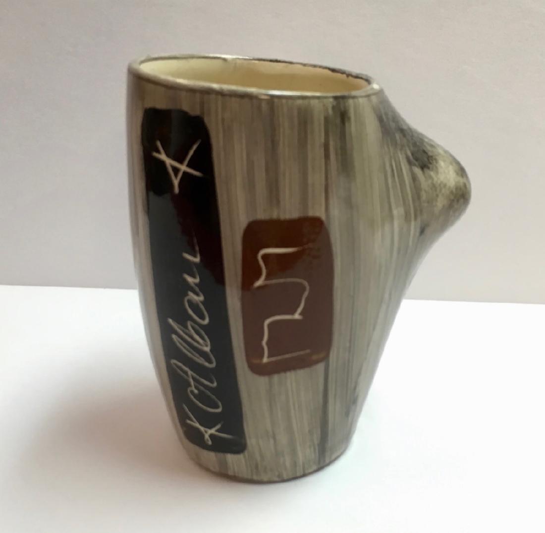 Rare Ceramic Hand made Mug