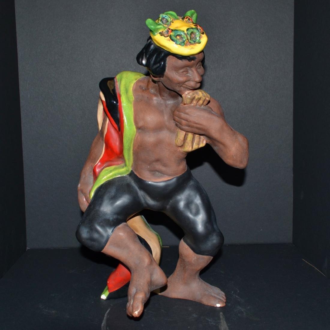 Rare Vintage Ceramic Male Figure