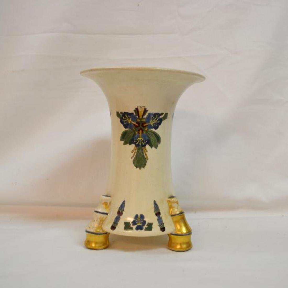 Vintage victorian hand painted vase