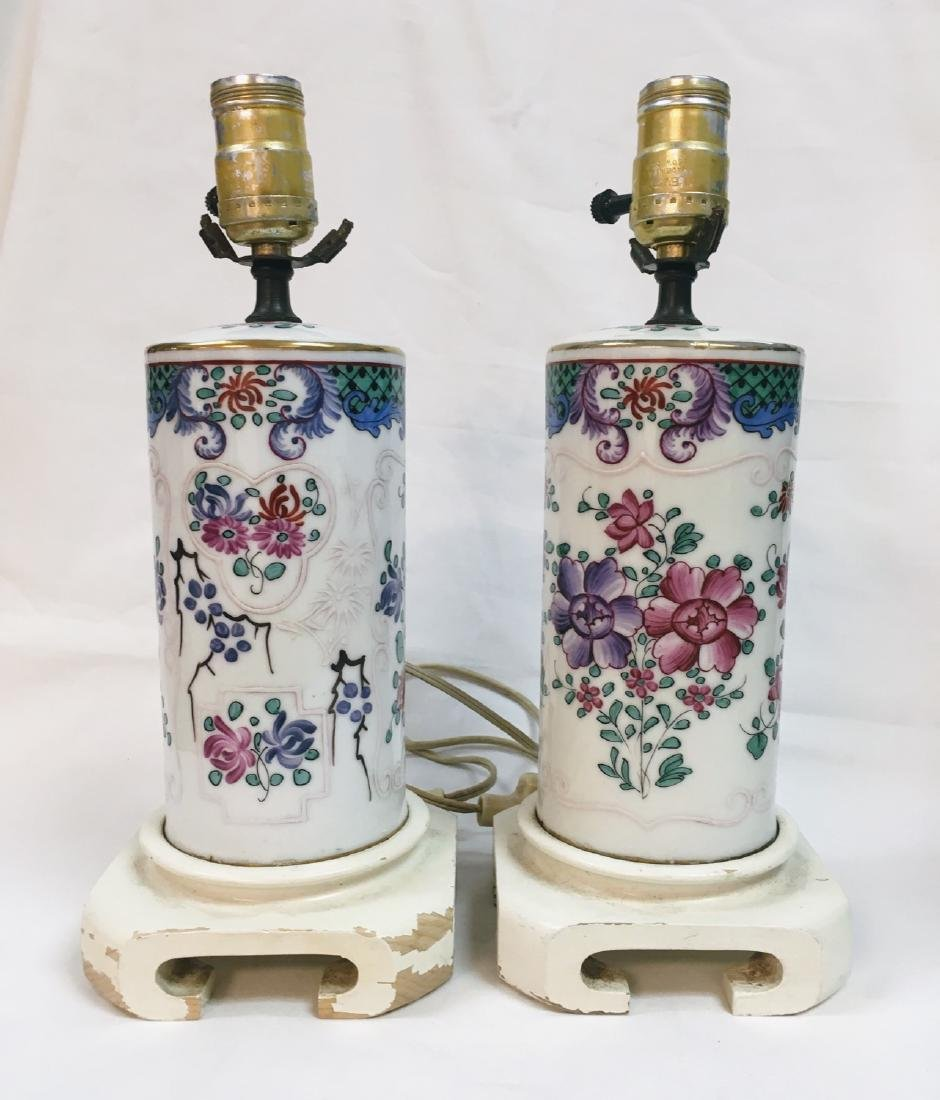 Pair of French Samson Chinese Export Style Porcelain