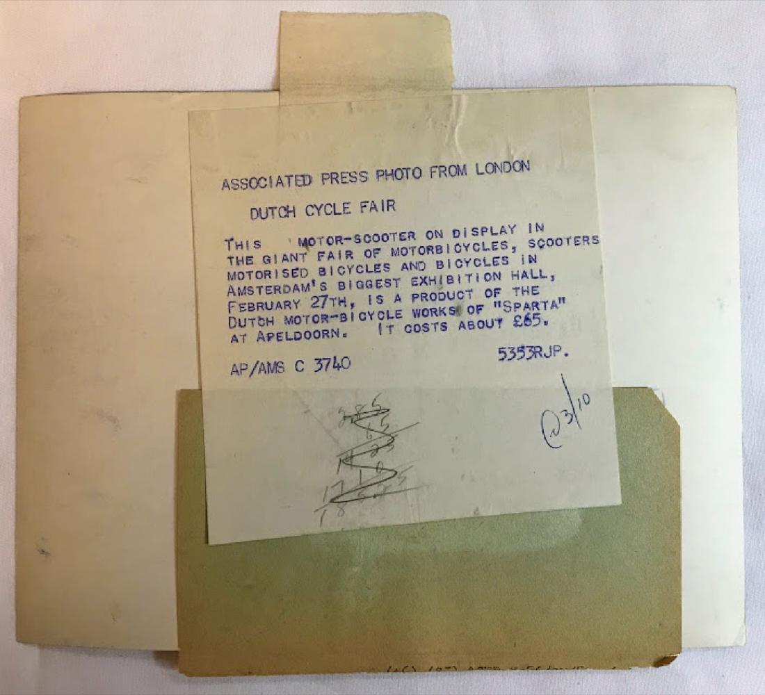 Vintage Press Photo, Associated Press , info on back of - 2