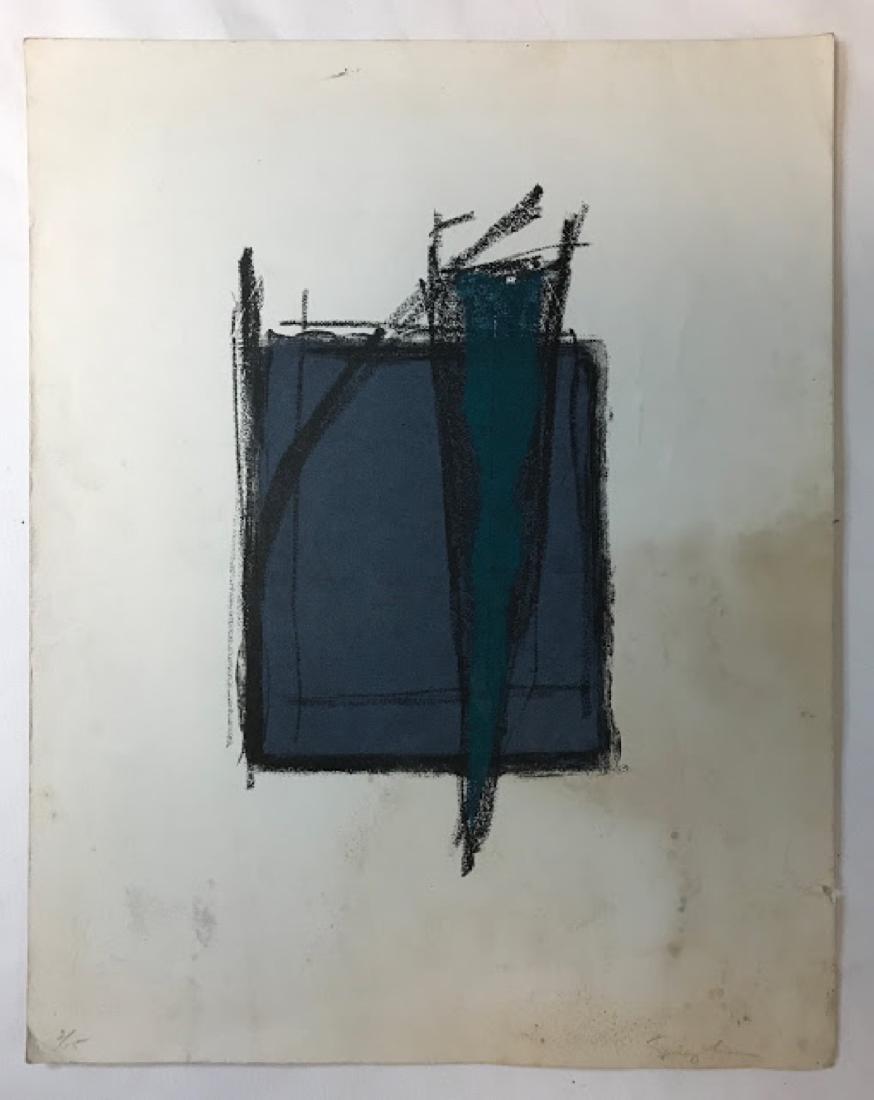 Fernando de Szyszlo Abstract Print -signed