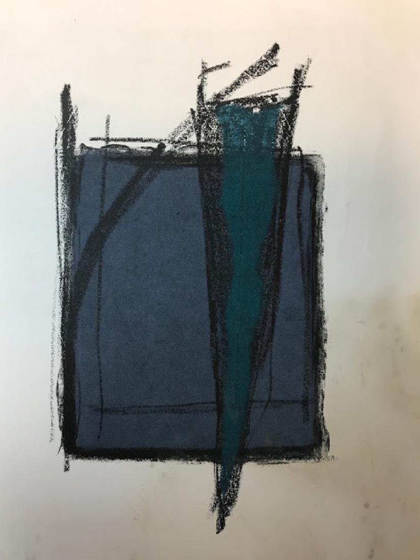 Fernando de Szyszlo Abstract Print -signed - 2